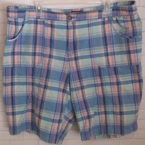 Merona Plaid Casual Shorts